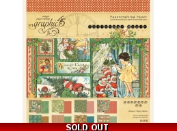 Graphic 45 - Christmas Magic 8x8 Paper Pad